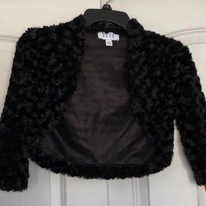 💋ELLE Black Crop top Blazer|SIZE XS|New 🌹